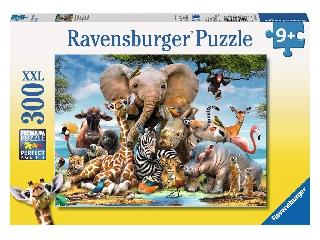 Afrikai állatok - 300 db-os XXL puzzle