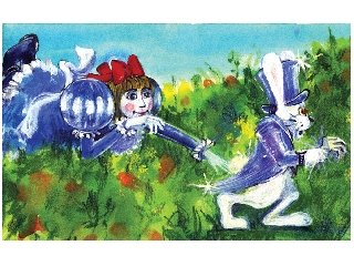 Alice csoda országban diafilm