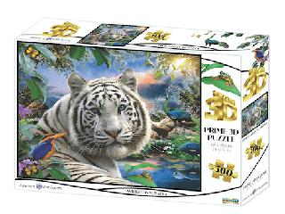 Alkonyat Szumátrában 3D puzzle, 500 darabos