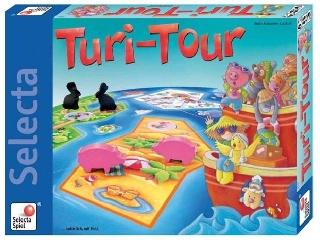 Állati vakáció társasjáték (Turi Tour)