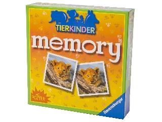 Állatkölykök memóriajáték