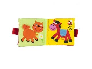 Állatos textilkönyv