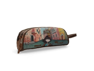 Anekke Venice kétrészes cipzáras tolltartó 24x10x9 cm