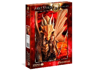 Anne Stokes Collection-Inner Strenght 1000 darabos puzzle