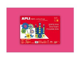 Apli - Moosgumi, 400x600 mm - Eva Sheets - Rózsaszín