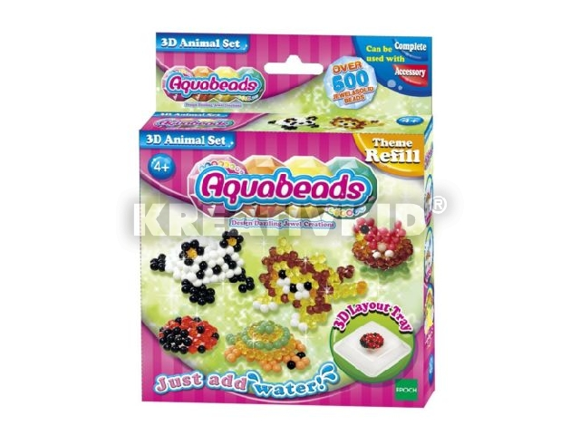 Aqua Beads - 3D-s állatos szett