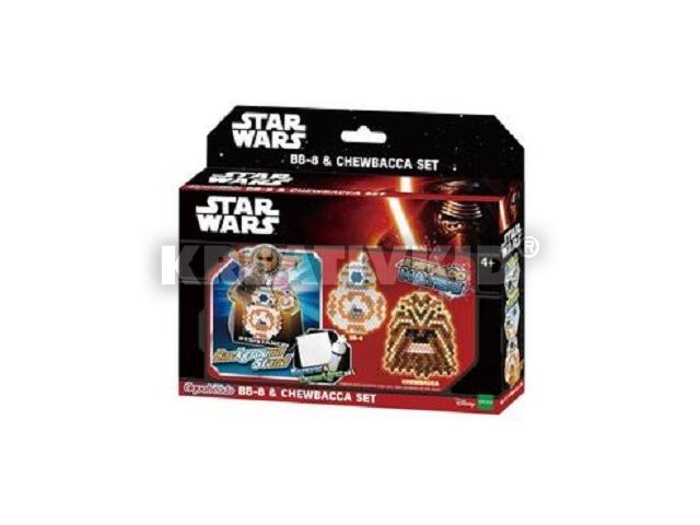 Aqua Beads szett - Star Wars BB-8 & Chewbacca