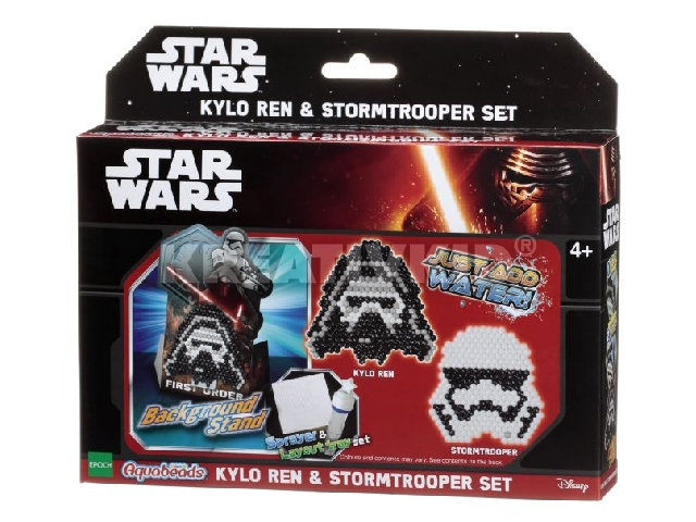Aqua Beads szett - Star Wars Kylo Ren & Stormtrooper