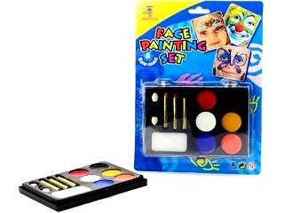 Arcfestő készlet 6 színben