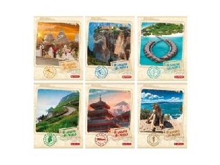 Around the World füzet A4/60 kockás