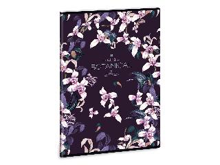 Ars Una Botanic Orchid A/4 extra kapcsos füzet-kockás