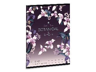 Ars Una Botanic Orchid A/5 leckefüzet