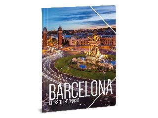 Ars Una Cities - Barcelona A/4 gumis dosszié