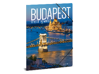 Ars Una Cities-Budapest A/4 gumis dosszié