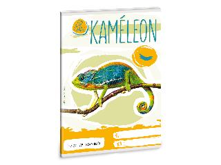 Ars Una Cuki Állatok - Kamélleon - A/5 négyzethálós füzet 2732