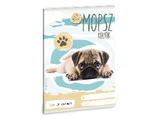 Ars Una Cuki Állatok - Mopsz - A/5 négyzethálós füzet 2732