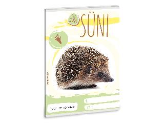 Ars Una Cuki Állatok - Süni - A/5 négyzethálós füzet 2732