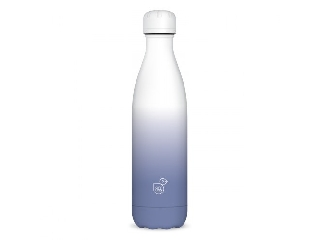 Ars Una duplafalú fémkulacs-500 ml - fehér-lila