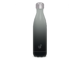 Ars Una duplafalú fémkulacs-500 ml - szürke-fekete