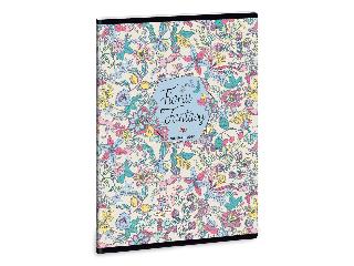 Ars Una Floral Jungle A/5 extra kapcsos füzet-vonalas