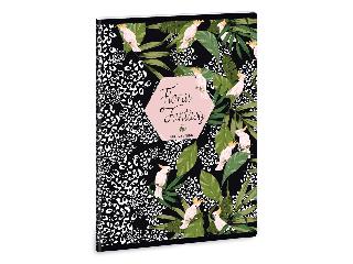 Ars Una Floral Kakadu A/5 extra kapcsos füzet-vonalas