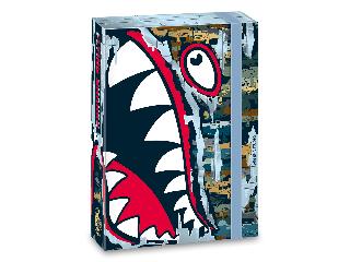 Ars Una Flying Sharks A/5 füzetbox