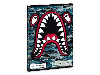 Ars Una Flying Sharks A/5 vonalas füzet 2132