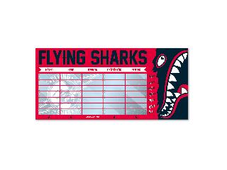 Ars Una Flying Sharks órarend kétoldalas