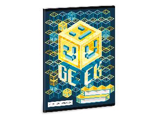 Ars Una Geek A/5 vonalas füzet 2132