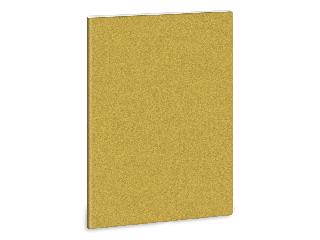 Ars Una glitter-arany A/4 extra kapcsos füzet-kockás