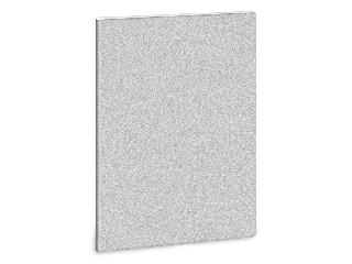 Ars Una glitter ezüst A/4 extra kapcsos füzet négyzethálós