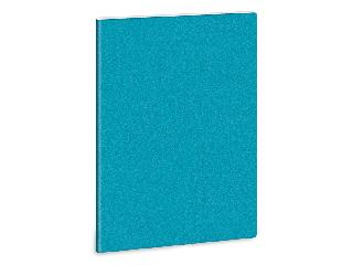 Ars Una glitter kék A/4 extra kapcsos füzet kockás