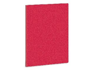 Ars Una glitter piros A/4 extra kapcsos füzet-kockás