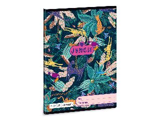 Ars Una Jungle A/5 négyzethálós füzet 2732