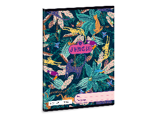 Ars Una Jungle A/5 sima füzet 2032