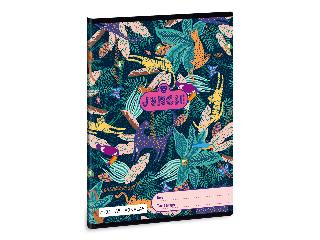 Ars Una Jungle A/5 vonalas füzet 2132