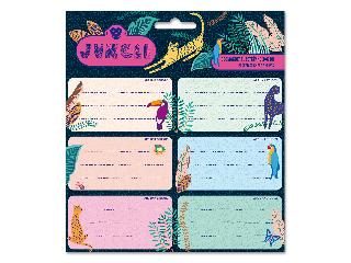 Ars Una Jungle csomagolt füzetcímke (3x6 db)