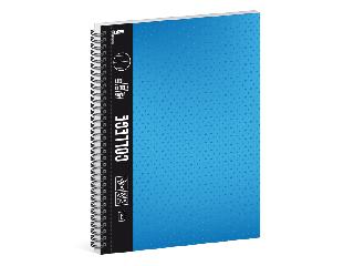 Ars Una kék A/4 College spirálfüzet-vonalas