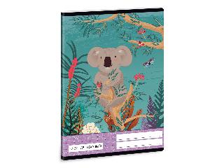 Ars Una Kirra Koala A/5 négyzethálós füzet 2732