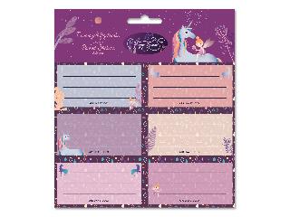 Ars Una Magic Forest csomagolt füzetcímke (3x6 db)