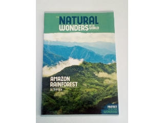 Ars Una Natural Wonders Amazon Rainforest A/4 extra kapcsos kockás füzet