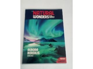 Ars Una Natural Wonders Aurora Borealis A/4 extra kapcsos kockás füzet