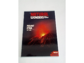 Ars Una Natural wonders Mount Etna A/4 extra kapcsos füzet sima