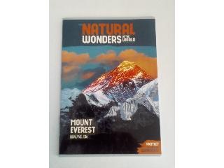 Ars Una Natural Wonders Mount Everest A/4 extra kapcsos kockás füzet