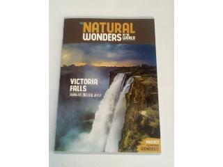 Ars Una Natural Wonders Victoria Falls A/4 extra kapcsos kockás füzet