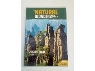 Ars Una Natural Wonders Zhangjiajie A/4 extra kapcsos kockás füzet