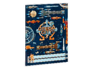Ars Una Omega city A/5 füzetborító