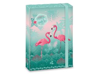 Ars Una Pink flamingo A/4 füzetbox