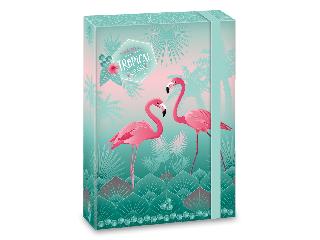 Ars Una Pink flamingo A/5 füzetbox
