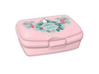 Ars Una Pink flamingo uzsonnás doboz